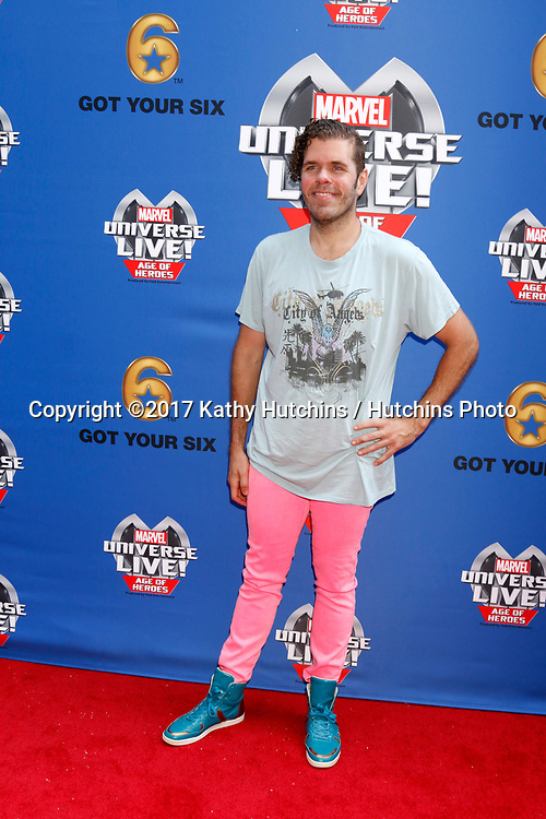 LOS ANGELES - JUL 8:  Perez Hilton at the Marvel Universe Live Red Carpet at the Staples Center on July 8, 2017 in Los Angeles, CA