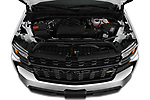 Car Stock 2020 Chevrolet Silverado-1500 WT 4 Door Pick-up Engine  high angle detail view