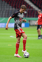 Thomas Mueller (FC Bayern Muenchen) - 04.07.2020, Fussball DFB Pokal Finale, Bayer 04 Leverkusen - FC Bayern Muenchen emspor, v.l. Innenansicht Olympiastadion<br /> <br /> Foto: Kevin Voigt/Jan Huebner/Pool/Marc Schueler/Sportpics.de<br /> <br /> (DFL/DFB REGULATIONS PROHIBIT ANY USE OF PHOTOGRAPHS as IMAGE SEQUENCES and/or QUASI-VIDEO - Editorial Use ONLY, National and International News Agencies OUT)