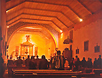 Shirley West-Easter Eve Service at the Mission..Mission San Antonio de Padua Portfolio.Photographed April 2011 and published September 2011...