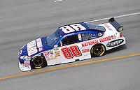 May 2, 2008; Richmond, VA, USA; NASCAR Sprint Cup Series driver Dale Earnhardt Jr during practice for the Dan Lowry 400 at the Richmond International Raceway. Mandatory Credit: Mark J. Rebilas-US PRESSWIRE