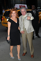 ***FILE PHOTO*** Regis Philbin Passes Away Aged 88.<br /> <br /> NEW YORK, NY - JULY 15: Joy Philbin and Regis Philbin arrive to the 'Irrational Man' New York Screening at MoMA on July 15, 2015 New York City. <br /> CAP/MPI99<br /> ©MPI99/Capital Pictures
