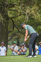 Thomas Pieters (BEL) watches his putt on 11 during round 2 of the World Golf Championships, Mexico, Club De Golf Chapultepec, Mexico City, Mexico. 3/2/2018.<br /> Picture: Golffile | Ken Murray<br /> <br /> <br /> All photo usage must carry mandatory copyright credit (&copy; Golffile | Ken Murray)