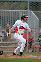 Illinois State Redbirds Daniel Dwyer (32) during a game against the Bucknell Bison on March 8, 2015 at North Charlotte Regional Park in Port Charlotte, Florida.  Bucknell defeated Illinois State 13-8.  (Mike Janes Photography)