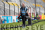 Photographer Maurice Wheelan before the Munster Minor Football Final between Kerry and Cork at Pairc Ui Chaoimh, Cork on Saturday night.
