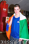 National Champion: Tom O'Sullivan, The Cashen, Ballyduuff and a member of the Cashen Vale Boxing Club who won a gold medal in the National Boy 4 - 75kg competition at the Irish Amateur Boxing Association  Finals in Dublin on Saturday.