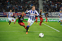 VOETBAL: HEERENVEEN: Abe Lenstra stadion 23-08-2014, SC Heerenveen - Excelsior uitslag 2 - 0, Sam Larsson, ©foto Martin de Jong
