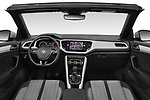 Stock photo of straight dashboard view of 2020 Volkswagen T-Roc Style 5 Door SUV Dashboard