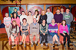 Dan McGillicuddy, Tournanough, Gneeveguilla seated centre who celebrated his 70th birthday and his sister Bridie McGrath, Killarney who celebrated her 65th birthday with their family and friends in the Killarney Avenue Hotel on Saturday night