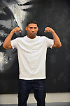 DEERFIELD BEACH, FL - JUNE 12: Yuriorkis 'The Cyclone of Guantanamo' Gamboa attends media work out at Iron Mike Productions Gym on June 12, 2014 in Deerfield Beach, Florida.  (Photo by Johnny Louis/jlnphotography.com)