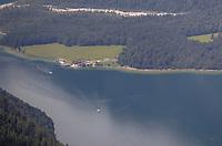 Blick auf den Königssee vom Jenner aus - Berchtesgaden 17.07.2019: Fahrt auf den Jenner