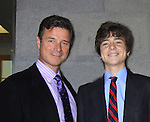 "One Life To Live James DePaiva ""Max"" and son All My Children JQ DePaiva attend the 19th Annual Feast benefitting the Center for Hearing and Communication - Connect to Life on October 22, 2012 at Chelsea Pier 60, New York City, New York.  (Photo by Sue Coflin/Max Photos)"