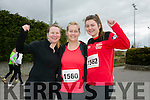 Anna Sheehy, Helen Finn and Ciara Finn Kingdom Come 10 miler and 5k race at Castleisland on Sunday