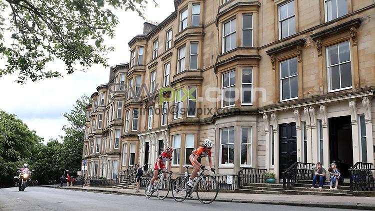PICTURE BY VAUGHN RIDLEY/SWPIX.COM - Cycling - 2013 British Cycling National Road Race Championships - Glasgow, Scotland - 23/06/13 - Emma Trott of Wiggle Honda.