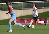 Boyds, MD - Saturday May 14, 2016: Washington Spirit midfielder Christine Nairn (7) during a regular season National Women's Soccer League (NWSL) match at Maureen Hendricks Field, Maryland SoccerPlex. The Washington Spirit defeated the Houston Dash 1-0.