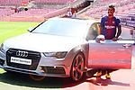 Presentation of Paulinho Bezerra as new player of the FC Barcelona.
