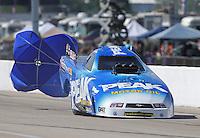 Apr. 28, 2013; Baytown, TX, USA: NHRA top alcohol dragster driver Jay Payne during the Spring Nationals at Royal Purple Raceway. Mandatory Credit: Mark J. Rebilas-