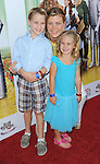 Alison Sweeney and her kids arrive to The Wizard of OZ 3D Premiere and the Grand Opening of the new TCL Chinese Theatre IMAX in Los Angeles September 15, 2013