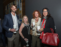 Ben Brousseau, Katy McLaughlin and Isabel Gento attend the VIP Preview of The Camden Lifestyle at Hollywood + Vine on April 26, 2016 (Photo by Inae Bloom/Guest of a Guest)