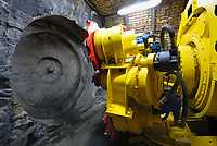 Bochum Germany- 2008 File Photo -<br /> Tunnel boring machine KTF 280.<br /> <br /> This machine is part of a demonstration mine in the German Mining Museum, Bochum.