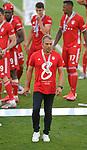 27.06.2020, Fussball: nph00001 1. Bundesliga 2019/2020, 34. Spieltag, VfL Wolfsburg - FC Bayern Muenchen, in der Volkswagen-Arena Wolfsburg. Siegerehrung nach dem Spiel: Der FC Bayern MŸnchen feiert den Gewinn der 30. Deutschen Meisterschaft. Trainer Hans-Dieter Flick (Bayern MŸnchen)<br /><br />Foto: Bernd Feil/M.i.S./ /Pool/nordphoto<br /><br />Nur fŸr journalistische Zwecke! Only for editorial use! <br /><br />GemŠ§ den Vorgaben der DFL Deutsche Fussball: nph00001 Liga ist es untersagt, in dem Stadion und/oder vom Spiel angefertigte Fotoaufnahmen in Form von Sequenzbildern und/oder videoŠhnlichen Fotostrecken zu verwerten bzw. verwerten zu lassen. DFL regulations prohibit any use of photographs as image sequences and/or quasi-video.    <br /><br />National and international NewsAgencies OUT.