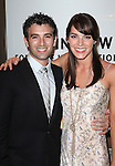 Jarrod Spector and Kelli Barrett attending the Broadway Opening Night Performance of 'An Enemy of the People' at the Samuel J. Friedman Theatre in New York. Sept. 27, 2012