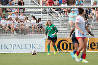 Cary, North Carolina  - Sunday May 21, 2017: Alyssa Naeher during a regular season National Women's Soccer League (NWSL) match between the North Carolina Courage and the Chicago Red Stars at Sahlen's Stadium at WakeMed Soccer Park. Chicago won the game 3-1.