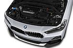 Car stock 2018 BMW X2 Advantage 5 Door SUV engine high angle detail view