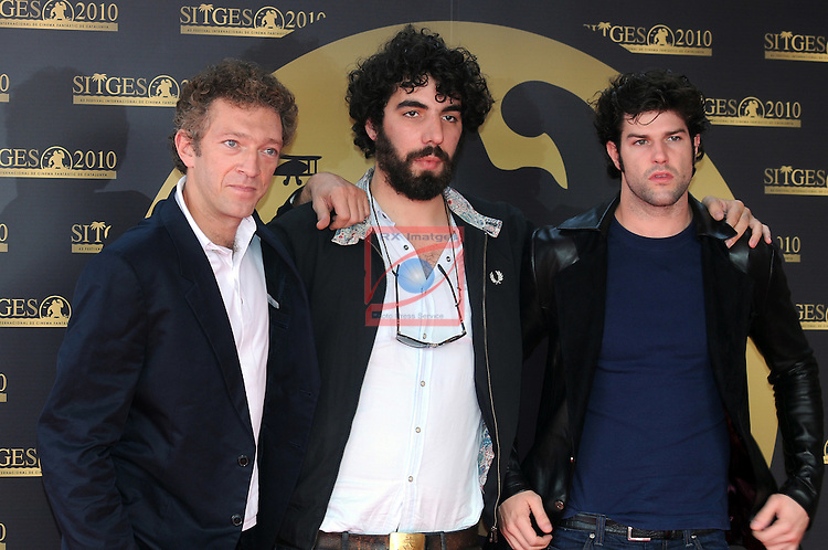 Vicent Cassel, Romain Gavras & Olivier Barthelemy - Notre Jour Viendra (Sitges Film Festival 2010).