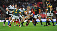 Akker van der Merwe (Lions) of Barbarians in action during the Killik Cup match between Barbarians and South Africa at Wembley Stadium on Saturday 5th November 2016 (Photo by Rob Munro)