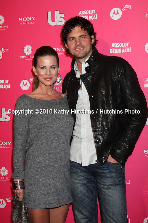 Julianne Morris & Kristoffer Polaha.arrives at the US Weekly Hot Hollywood Party 2010.Drai's at the W Hotel Hollywood.Los Angeles, CA.April 22, 2010.©2010 Kathy Hutchins / Hutchins Photo...