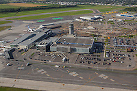 Quebec City Jean Lesage International Airport is pictured in this aerial photo in Quebec city Thursday September 3, 2015.