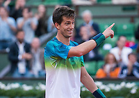 ALJAZ BEDENE (GBR)<br /> <br /> TENNIS - FRENCH OPEN - ROLAND GARROS - ATP - WTA - ITF - GRAND SLAM - CHAMPIONSHIPS - PARIS - FRANCE - 2016  <br /> <br /> <br /> <br /> &copy; TENNIS PHOTO NETWORK
