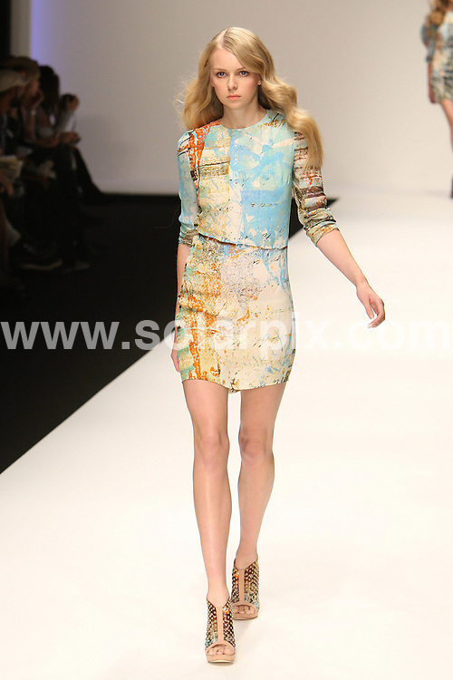 **ALL ROUND PICTURES FROM SOLARPIX.COM**                                             **WORLDWIDE SYNDICATION RIGHTS**                                                                                  Caption:   London Fashion Week.                                                                            ..This pic:  Basso & Brooke collection                                                                                      ..JOB REF: 12127      MLW       DATE:  19.09.10                                                        **MUST CREDIT SOLARPIX.COM OR DOUBLE FEE WILL BE CHARGED****MUST AGREE FEE BEFORE ONLINE USAGE**                               **CALL US ON: +34 952 811 768 or LOW RATE FROM UK 0844 617 7637**