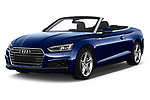 2017 Audi A5 Sport 2 Door Convertible angular front stock photos of front three quarter view