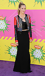 Alyson Stoner arriving at the 2013 Nickelodeon Kid's Choice Awards, held at the USC Galen Center in Los Angeles, CA. on March 23, 2013.