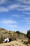 Israel, Upper Galilee, Nahal Meron at the foothill of Mount Meron