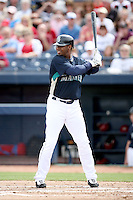 March 8, 2009: Ken Griffey Jr. (24) of the Seattle Mariners at Peoria Sports Complex in Peoria, AZ.  Photo by: Chris Proctor/Four Seam Images