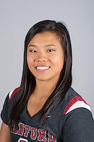 STANFORD, CA - Ivana Hong of Stanford University Women's Gymnastics.