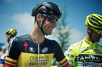 Heistse Pijl 2013<br /> <br /> Tom Boonen (BEL) at the start