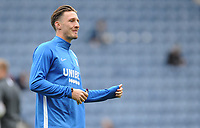Preston North End's Ben Davies during the pre-match warm-up <br /> <br /> Photographer Kevin Barnes/CameraSport<br /> <br /> The EFL Sky Bet Championship - Preston North End v Barnsley - Saturday 5th October 2019 - Deepdale Stadium - Preston<br /> <br /> World Copyright © 2019 CameraSport. All rights reserved. 43 Linden Ave. Countesthorpe. Leicester. England. LE8 5PG - Tel: +44 (0) 116 277 4147 - admin@camerasport.com - www.camerasport.com