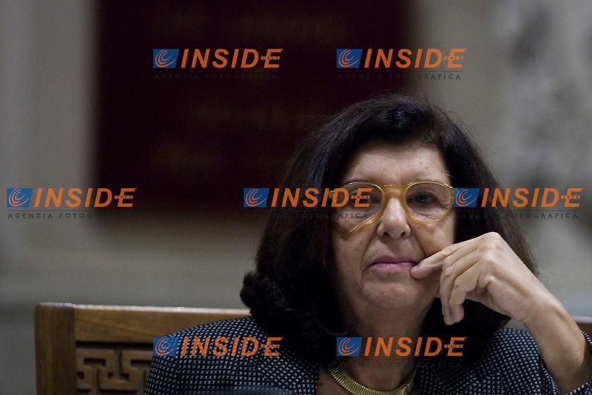 Palazzo di Giustizia Presentazione del libro La fatica dei giusti Come la giustizia pu˜ funzionare..Nella foto il ministro della Giustizia Paola Severino ..Roma 28 Novembre 2011..Photo Serena Cremaschi Insidefoto..............................