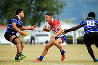 Horowhenua Kapiti v Wanganui men. 2017 Bayleys Central Regional Sevens at Playford Park in Levin, New Zealand on Saturday, 9 December 2017. Photo: Dave Lintott / lintottphoto.co.nz