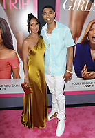 www.acepixs.com<br /> <br /> July 13 2017, LA<br /> <br /> Jada Pinkett Smith and brother Caleeb Pinkett arriving at the premiere of Universal Pictures' 'Girls Trip' at the Regal LA Live Stadium 14 on July 13, 2017 in Los Angeles, California.<br /> <br /> <br /> By Line: Peter West/ACE Pictures<br /> <br /> <br /> ACE Pictures Inc<br /> Tel: 6467670430<br /> Email: info@acepixs.com<br /> www.acepixs.com
