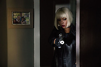 Proud Mary (2018) <br /> Mary (Taraji P. Henson) enters a room after a contract kill to see something unexpected<br /> *Filmstill - Editorial Use Only*<br /> CAP/KFS<br /> Image supplied by Capital Pictures
