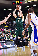 Baltimore, MD - William & Mary Tribe guard Omar Prewitt (4) hits on a three pointer during game against Hofstra Pride at the CAA Basketball Tournament at the Royal Farms Arena in Baltimore, Maryland on March 6, 2016.  (Photo by Philip Peters/Media Images International)