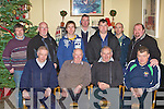 Richard Walsh Cordal and Mike McCarthy celebrate their retirement from CIE with their colleagues in Ulicks bar Farranfore on Wednesday front row l-r: Sean McCarthy, Richard Walsh, Mike McCarthy, Tim teahan. Back row: Tony Eager, Brendan Moore, Lawrence Dowd, Tom Hickey, George Marshall, Con Crowley and Johnaton Healy