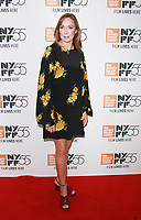 NEW YORK, NY October 01, 2017 Elizabeth Marvel, attend 55th New York Film Festival premiere of The Meyerowitz Stories at Alice Tully Hall Lincoln Center in New York October 01,  2017.<br /> CAP/MPI/RW<br /> &copy;RW/MPI/Capital Pictures