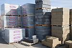 Bricks in builders' yard, UK