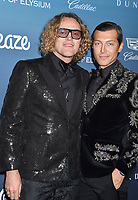 LOS ANGELES, CA - JANUARY 05: Peter Dundas (L) and Evangelo Bousis attend Michael Muller's HEAVEN, presented by The Art of Elysium at a private venue on January 5, 2019 in Los Angeles, California.<br /> CAP/ROT/TM<br /> ©TM/ROT/Capital Pictures